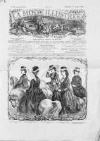 La Mode Illustree nr 29 z 17 lipca 1870