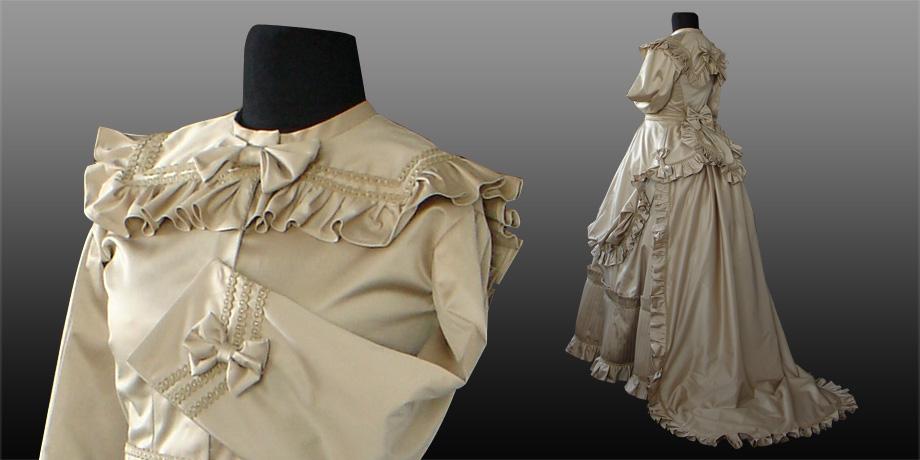 Suknia z Tuniką