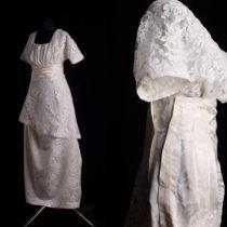 Suknia strojna 1913 r.