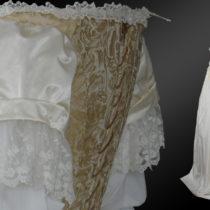 Suknia z XVII wieku (ok 1670r)