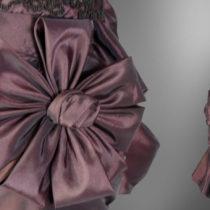 Suknia z XIX wieku (ok 1882r)