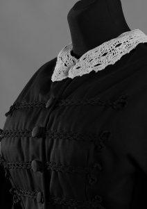 Suknia żałobna 1861r.