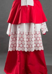 Strój kardynała koniec XVII wieku